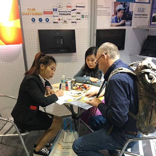 扬帆模具参加美国奥兰多NPE展
