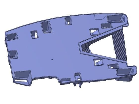 汽车模具C301支架