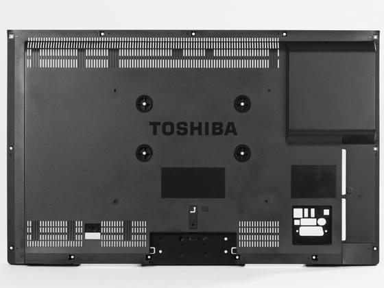 TOSHIBA电视后壳塑胶模具