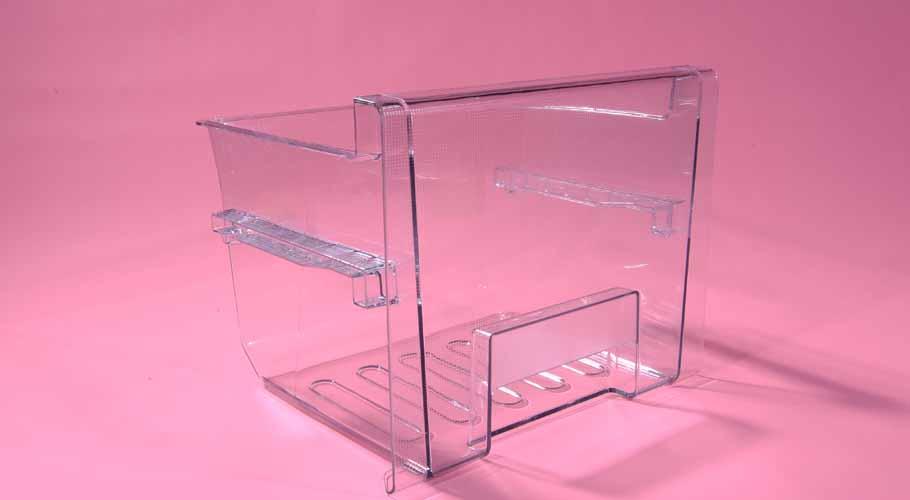 冰箱透明抽屉塑胶模具