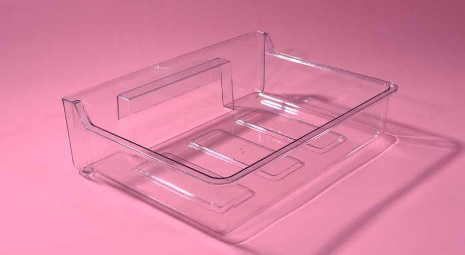冰箱透明果蔬盒塑胶模具